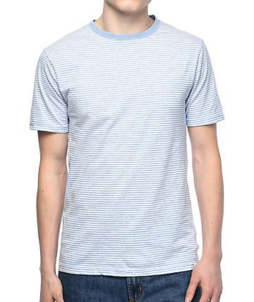 Zine Niles Light Blue Stripe T-Shirt