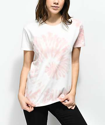 Zine Rayna camiseta tie dye rosa