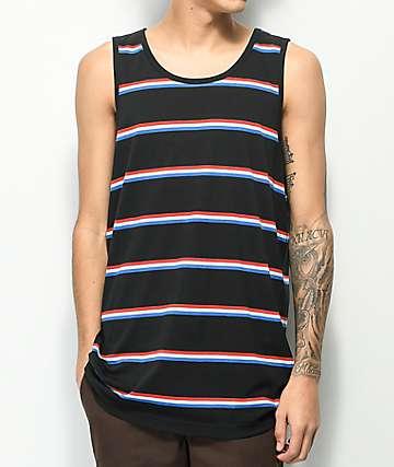 Zine Roco Black Stripe Tank Top