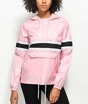 Zine Shiloh Candy Pink Windbreaker Jacket