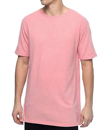 Zine Split Flamingo camiseta rosa