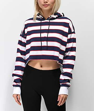 00f7a4d49967b Women s Cropped Hoodies