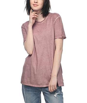 Zine Tibbie Taupe Rose Pigment T-Shirt