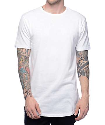 Zine Top Shelf camiseta en blanco
