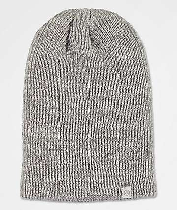 Zine Toque Grey Heather Slouch Beanie