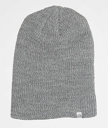 Zine Toque Slouch Heather Grey Beanie