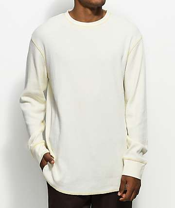 Zine Waffle Knit Birch Long Sleeve Thermal