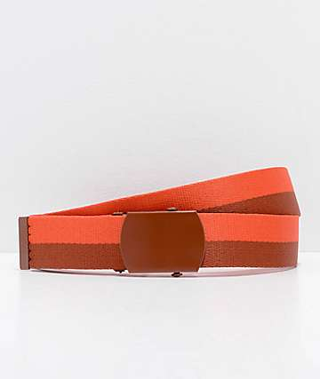 Zine Webster Two Tone Picante Web Belt