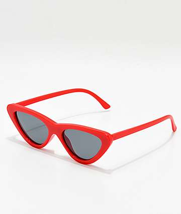 Zoe Red Sunglasses