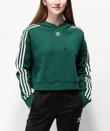 adidas olive green sweater