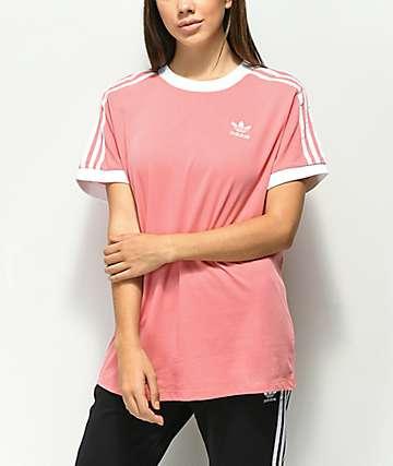 rosa adidas tights