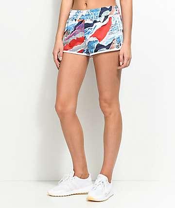 adidas 3 Stripe shorts deportivos multi color