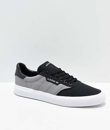 adidas 3MC Black, Grey & White Shoes
