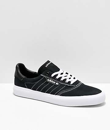 adidas 3MC Black & White Contrast Canvas Shoes