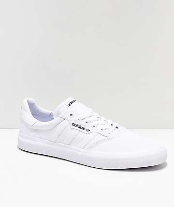 d2aff45109b7 adidas 3MC White Shoes