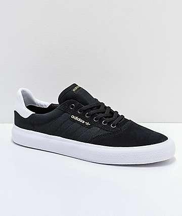 adidas 3MC zapatos negros y blancos