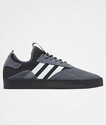 adidas 3ST.001 Onix, White & Black Skate Shoes