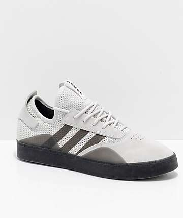 adidas 3ST.001 zapatos grises y negros