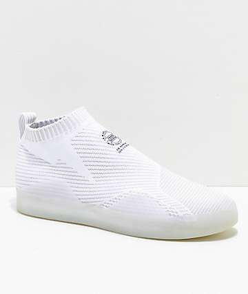adidas 3ST.002 Primeknit White & Grey Shoes