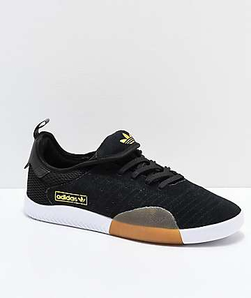 adidas 3ST.003 Black Granite & White Shoes