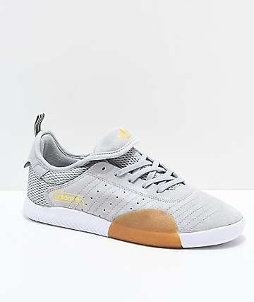 adidas 3ST.003 Grey & White Shoes