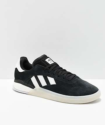 adidas 3ST.004 Black & White Shoes