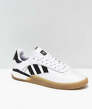 adidas 3ST.004 White, Black & Gum Shoes