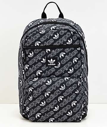 adidas AOP National Monogram Black Backpack