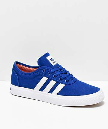 adidas AdiEase Collegiate Blue & White Shoes