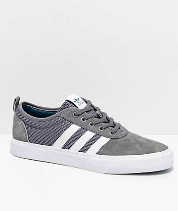 finest selection b6d74 b17f2 adidas AdiEase Grey   White Shoes
