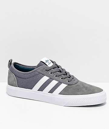 adidas AdiEase zapatos blancos y grises