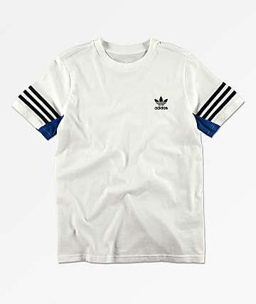 adidas Authentic camiseta blanca para niños