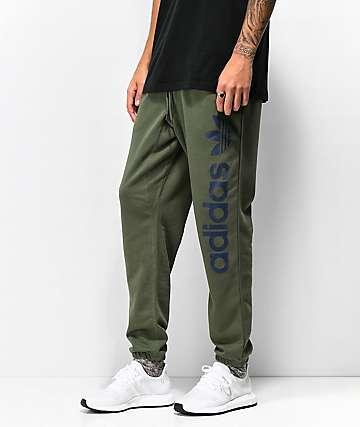 adidas BB pantalones deportivos en verde