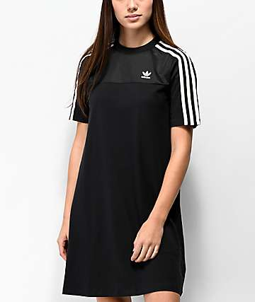adidas Black Mesh T-Shirt Dress