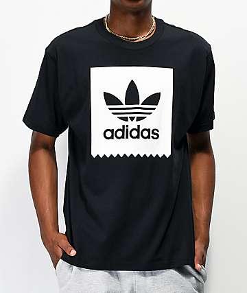adidas Blackbird Black & White T-Shirt