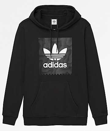 adidas Blackbird Fill Black Hoodie