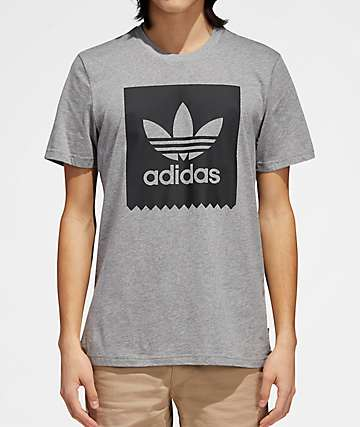 adidas Blackbird Heather Black T-Shirt