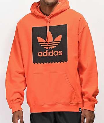 adidas Blackbird Orange Hoodie