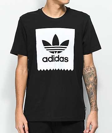 adidas Blackbird Solid camiseta nergra y blanca