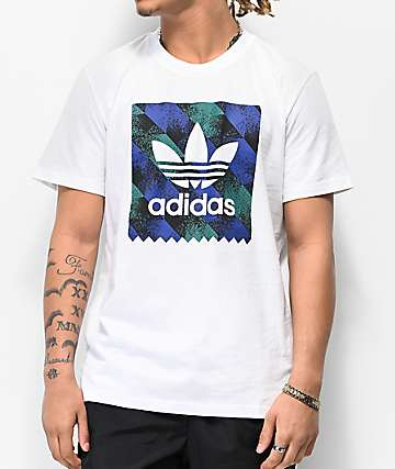 adidas Blackbird Towning White T-Shirt