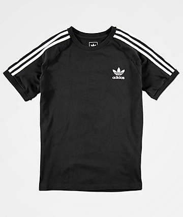 adidas Boys California Black T-Shirt
