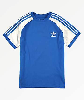 adidas Boys California Blue T-Shirt