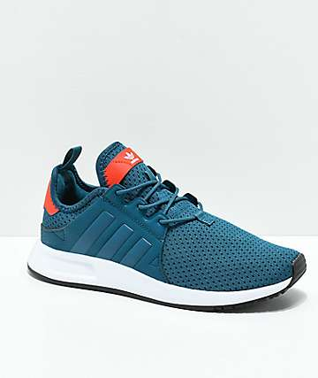 adidas Boys Xplorer Petnit, Orange & White Shoes