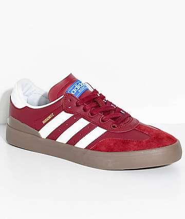 52ba8a99b09a ... inexpensive adidas busenitz vulc samba rx burgundy white shoes f25c6  d4ee0