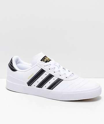 adidas Busenitz Vulc zapatos en blanco, negro y dorado
