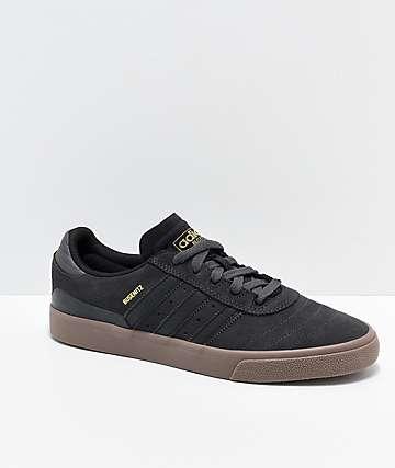 release date: f3091 05143 adidas Busenitz Vulc zapatos en gris, negro y goma