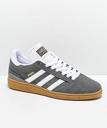 finest selection ce11c 8851e adidas Busentiz Cinder zapatos en gris, blanco y goma