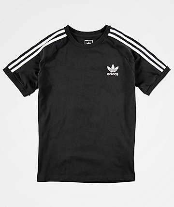 adidas California camiseta negra para niños
