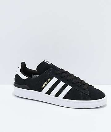 adidas Campus ADV Black & White Shoes