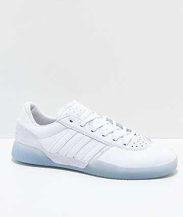 adidas City Cup White & White Ice zapatos blancos